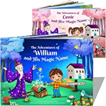 Personalized Book for Boys, Girls, My Magic Name Book, Great Keepsake Gift for Children - Hardback Available