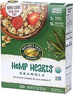 nature's path hemp plus oatmeal