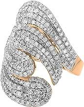Dazzlingrock Collection 3.00 Carat (ctw) 14K Gold Round Diamond Ladies Cocktail Ring