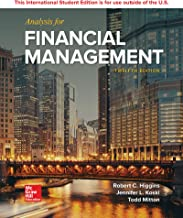 Analysis For Financial Management 12Thedition