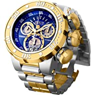Men's Reserve Silver and Gold Quartz Watch with Stainless-Steel Strap, Two Tone, 30 (Model: 21605)