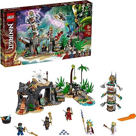 LEGO 71747 Ninjago LeVillagedesGardiens avec Les Minifigurines Ninja Cole, Jay et Kai, Enfant de 8 Ans et +