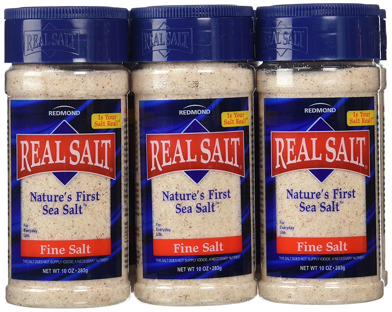 Redmond Ranking TOP19 Real Salt Shaker of 6 Pack 10-Ounce low-pricing