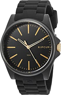 Rip Curl Men's A3096-MID Analog Display Quartz Black Watch
