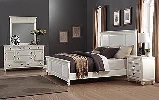 Amazon Com Bedroom Sets 4 Pieces Bedroom Sets Bedroom Furniture Home Kitchen