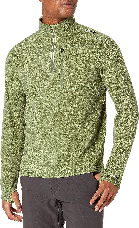 Hi-Tec Mens Mens Sequoia Half Zip Long Sleeve Thermal Sweater