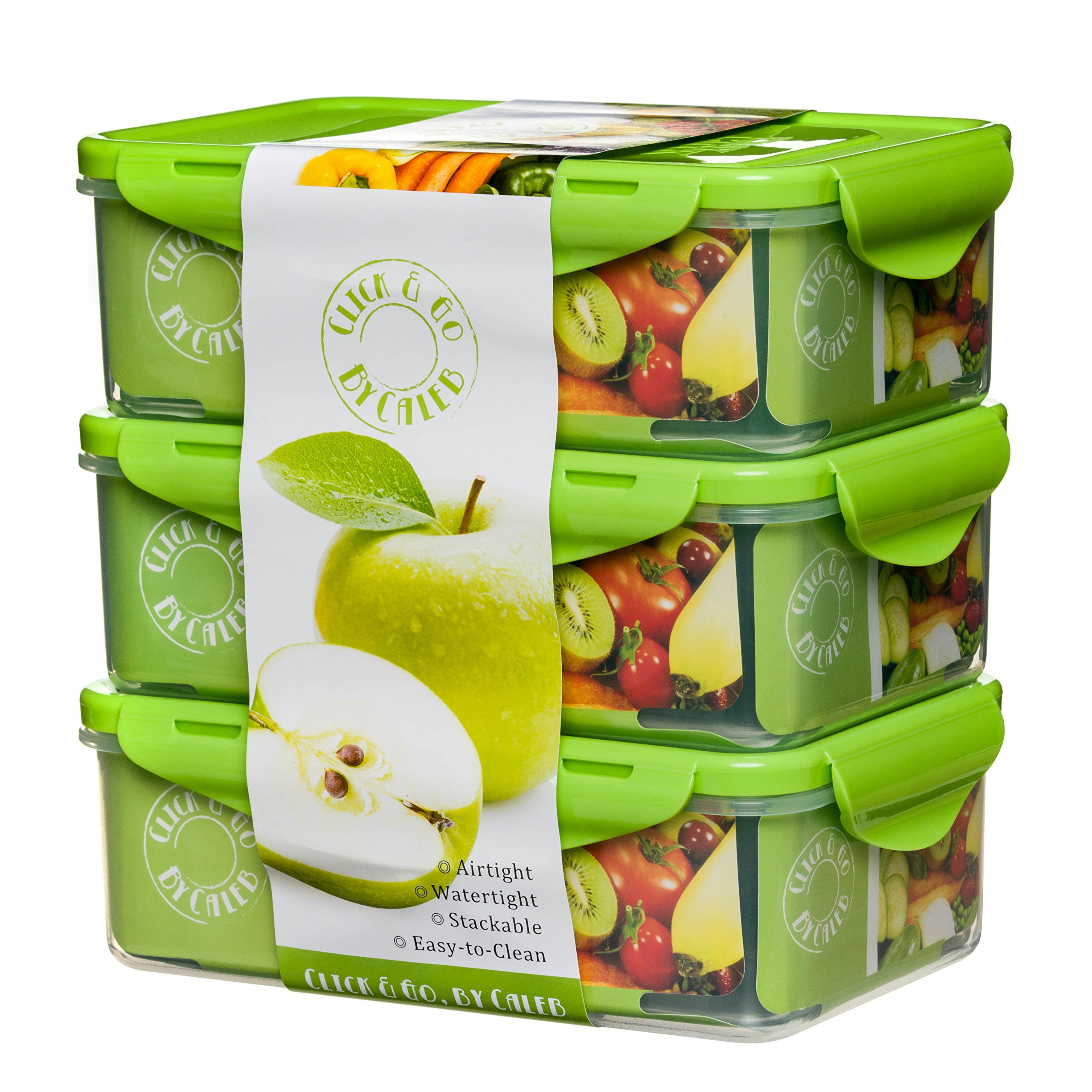 Bento Lunch Box Containers Compartments