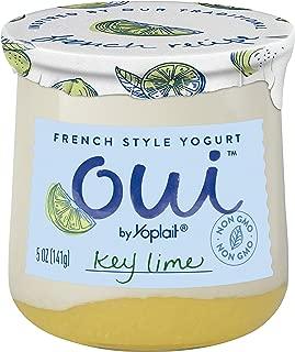 Oui by Yoplait French Style Yogurt, Non-GMO, Gluten Free Yogurt, Key Lime, 5.0 oz