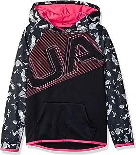 Girls Armourfleece Hoody Ua Logo