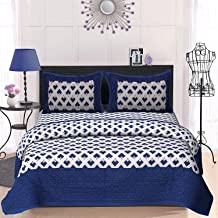 100% Cotton Rajasthani Tradition King Size Double Bedsheet with 2 Pillow Covers