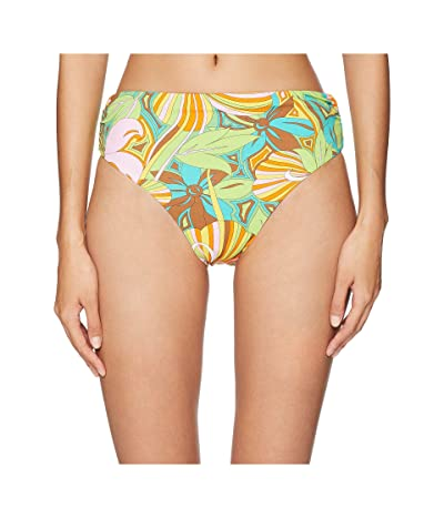 Letarte Mod Print Full Coverage Fold-Over Bottom (Multi) Women
