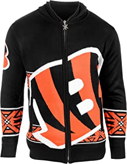 NFL Men's Full Zip Hooded Sweater