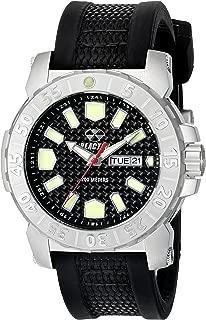 REACTOR Men's 76801 Meltdown 2 Analog Display Japanese Quartz Black Watch