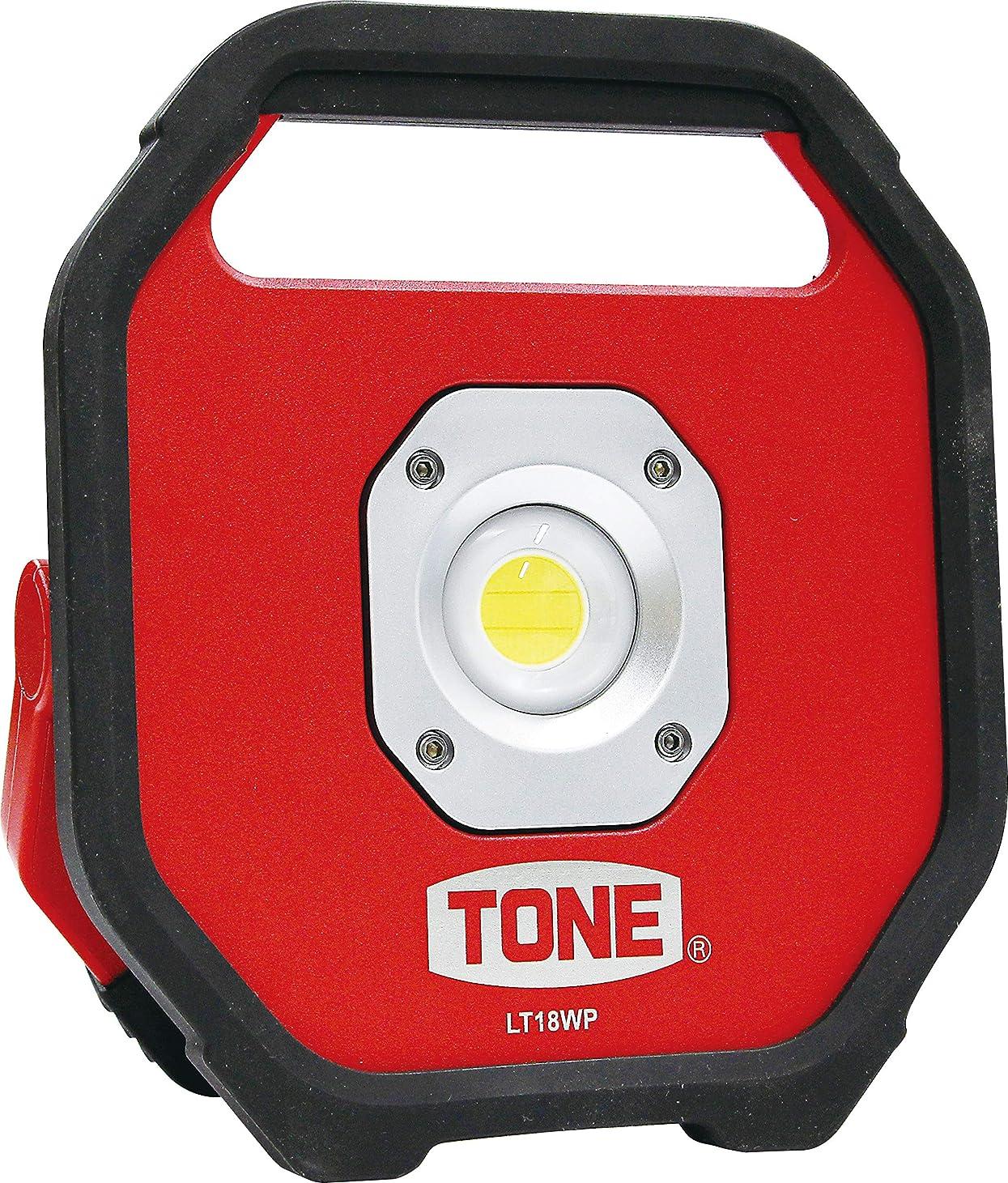 アーカイブ追跡バッジトネ(TONE) LED投光器(電池タイプ) LT18WP レッド/ブラック