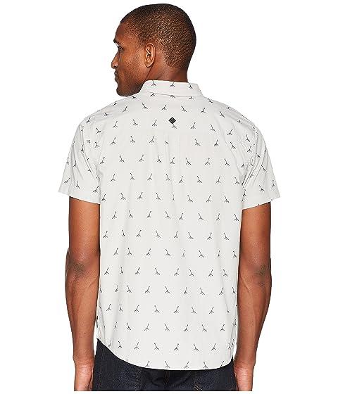 gris titanio Broderick bordado camisa Prana qaStH