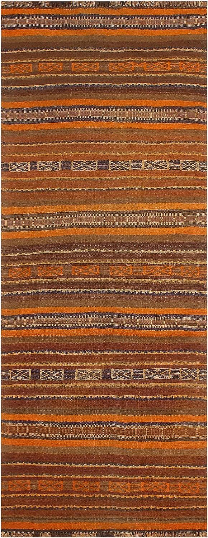 Tribal Vintage Kilim Under blast Max 84% OFF sales Julianna Hand-Woven Area Rug x 9'3 - 3'10''