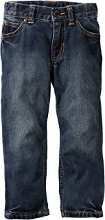 Carter's Boy's 5-Pocket Straight Jeans, Denim, 4