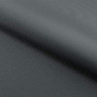 NOVELY Oxford 210D | Polyester | anschmiegsam nachgiebig | Meterware Segeltuch Dunkelgrau