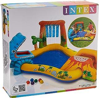 Intex 57444 Dinosaur Play Center Swim Pool With Electric Air Pump 220V