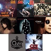 Ozzy Osbourne: Essential 8 Solo Studio Albums CD Collection (Ozzmosis / Under Cover / No More Tears)