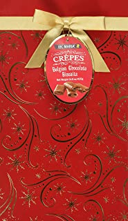 Loc Maria Crepes Belgian Chocolate Biscuits 14.8 Oz (Gift wrap may vary)