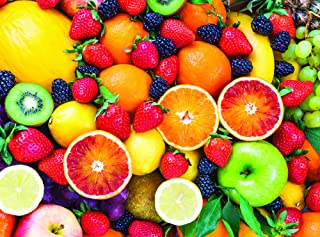 1000 Piece Jigsaw Puzzle: Cool Colorful Fruit