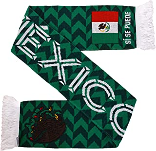 Mexico Soccer Knit Scarf