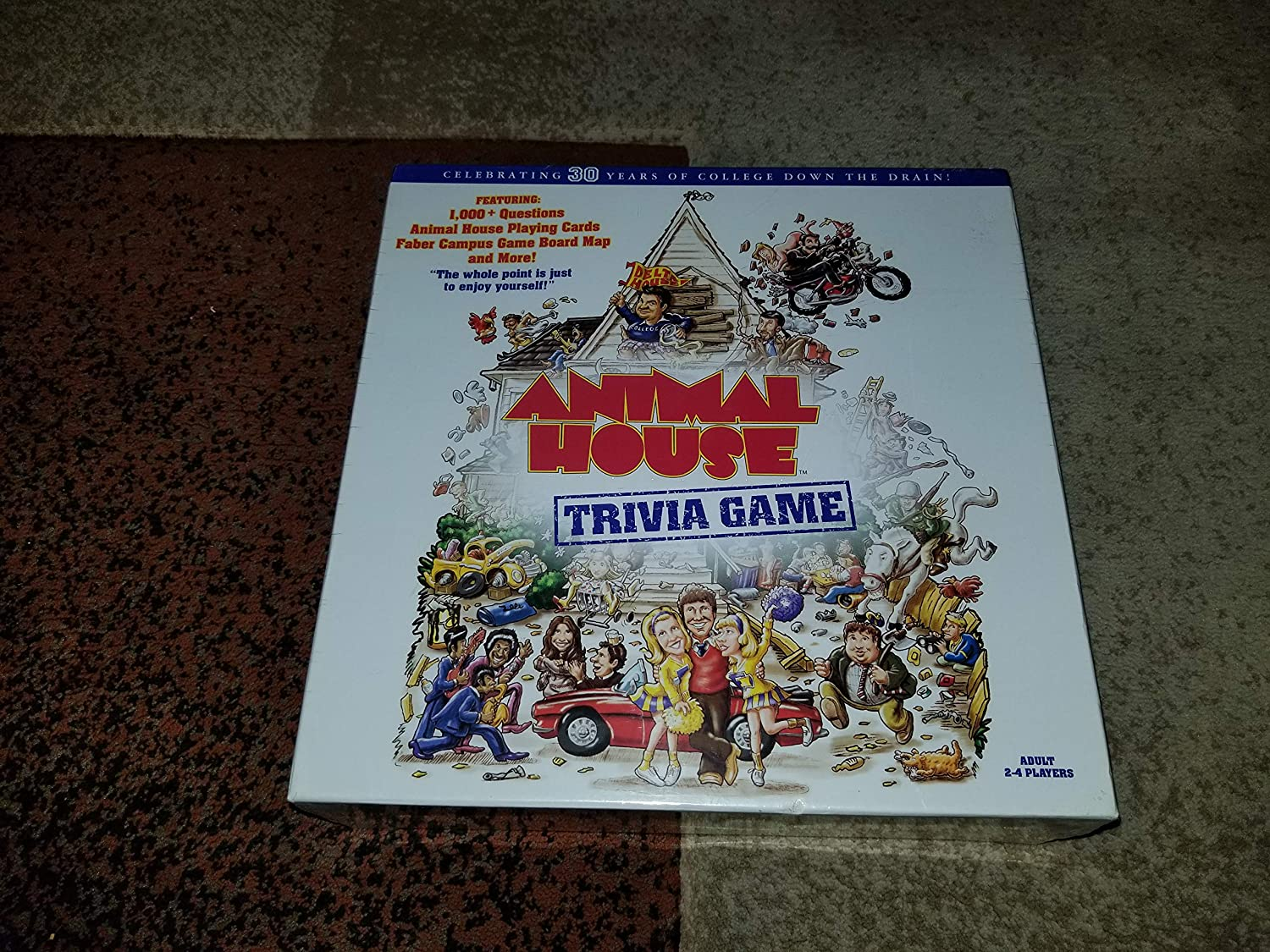 Animal House Trivia Game by USAopoly B00U205CQK Innovation | Nicht so teuer