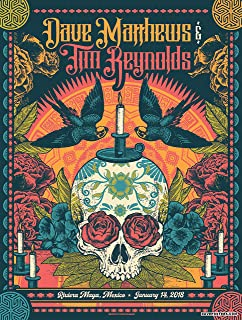 Dave Matthews Band & Tim Reynolds Concert Poster Iron On Transfer for T-Shirts & Other Light Color Fabrics #3