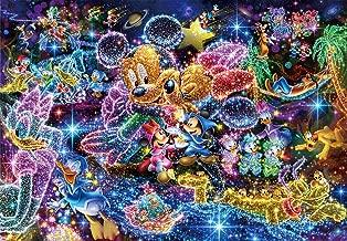 Tenyo (DS-771) Disney Stained Art Wishing to Starry Sky Jigsaw Puzzle (1000 Piece)