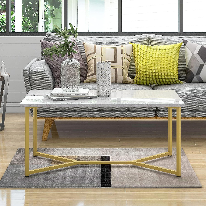 Modern Cheap SALE Start Rectangle Wooden Coffee X-Leg Table Stylish Base Purchase