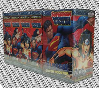 heroclix superman wonder woman super booster
