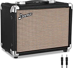 Donner M-10 10W Guitar Amplifier, Electric, Bass and Acoustic Guitar Combo Amp, with APP Effector Input and Distortion Ton...