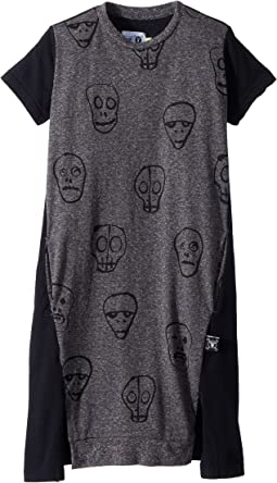 Nununu Skull Mask A Dress (Little Kids/Big Kids)