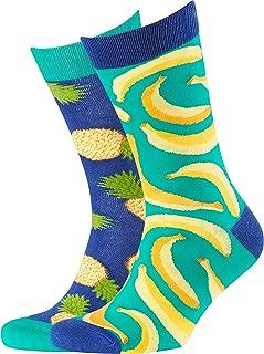 Men's Bananas & Pineapples Odd Socks