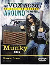 VOX Amps - AC30 - Munky of Korn - 2014 Print Advertisement
