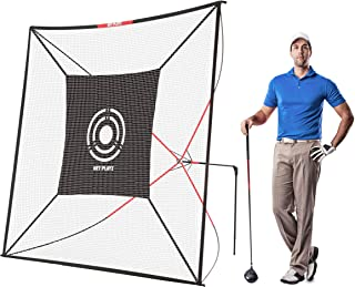 Net Playz Golf Practice Auto Return Net,10Ft x 10Ft