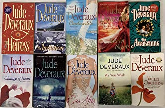 Jude Deveraux Romance Novel Collection 10 Book Set