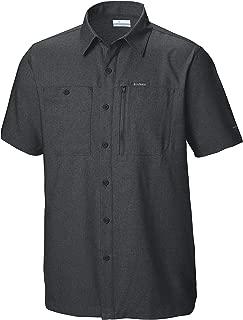 Columbia 男士 Pilsner Peak III 短袖衬衫,防紫外线,吸湿排汗面料