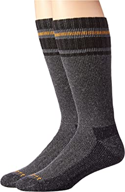 Heavy Duty Thermal Crew 2-Pair Socks