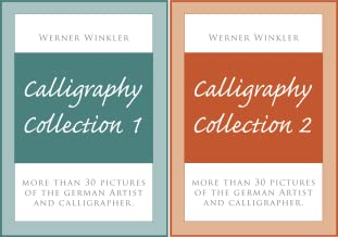 Calligraphy-Collection (2 Book Series)