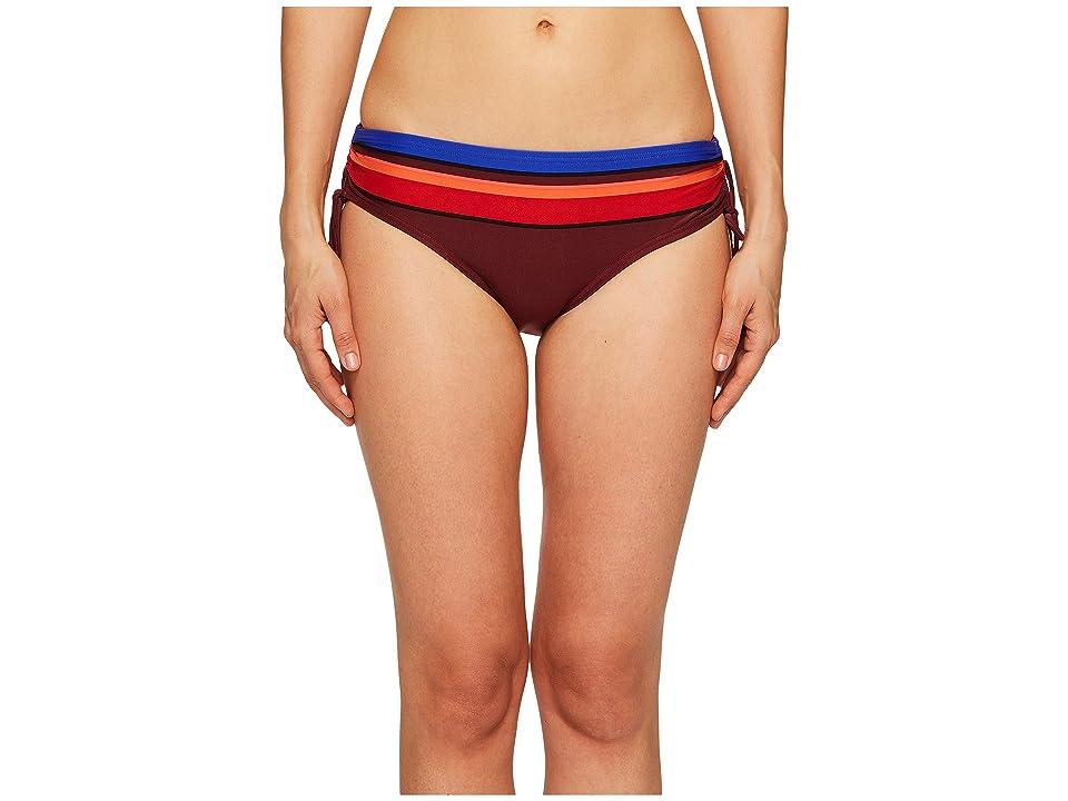 Kate Spade New York Miramar Beach #59 Adjustable Hipster Bikini Bottom (Multi) Women