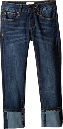 Hudson Kids - Ginny Crop Super Stretch in Forget Me Not (Big Kids)