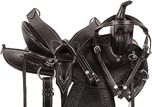 AceRugs GAITED Saddle 15 16 17 18 Western Pleasure Trail Riding DEEP SEAT Endurance GAITED Bars Horse TACK Package