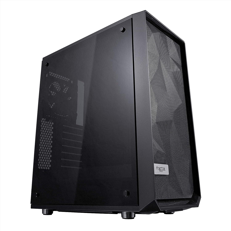 Fractal Design meshify C Templado Cristal ATX/mATX/ITX Caja de Ordenador–Negro