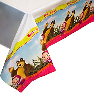 Bright Tablecloth for Kids Birthday Party Supplies with Favourite Characters