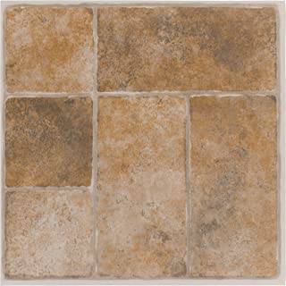 Achim Home Furnishings Achig FTVGM33720 Nexus Quartose Granite,12 Inch x 12 Inch, Self Adhesive Vinyl Floor 337, 20 Tiles,...