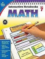 Carson Dellosa | Interactive Notebook Math Workbook | Grade 7, Printable