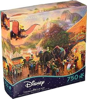 Ceaco Thomas Kinkade - The Disney Collection - Disney's Dumbo Puzzle, 750 Pieces