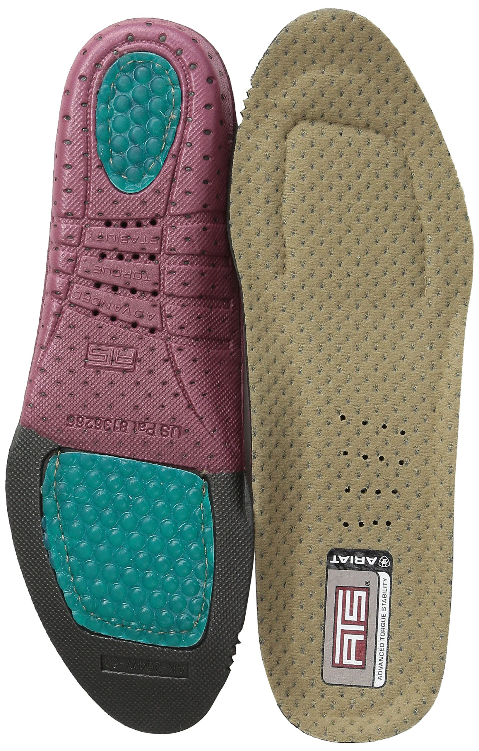 Womens Footbed Insole Apparel Accesory